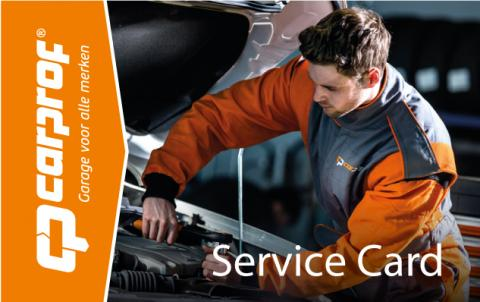 CarProf Service Card